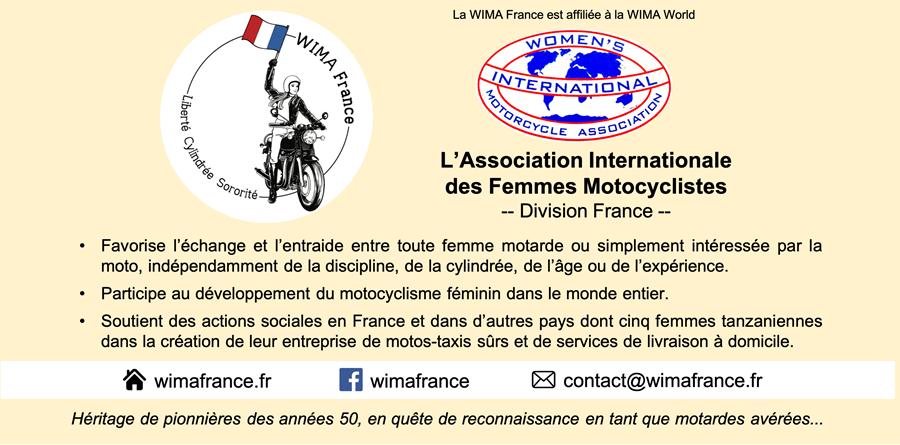 ANNUELLE WIMA FRANCE SEPT 2020 à SEPTEMBRE 2021 - WIMA France