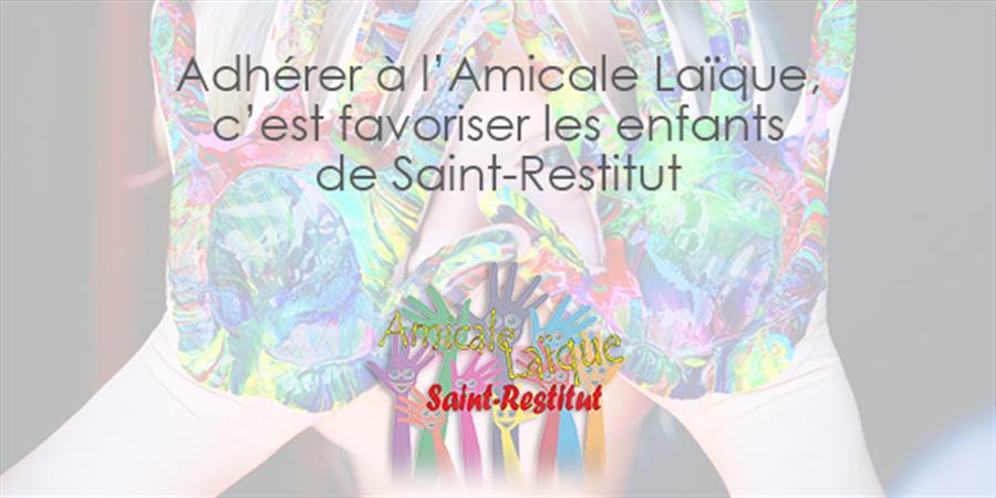 Adhésion à l'Amicale Laïque de Saint-Restitut - Amicale Laïque de Saint Restitut