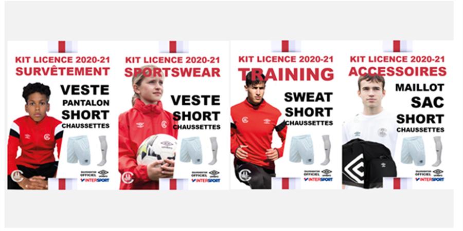 Réservation gratuite kit équipement 2020-21 - E S Coutances