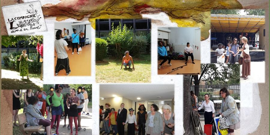Ateliers-théâtre pour adultes 2019-2020 à Paris - La Compagnie L Aime en Terre