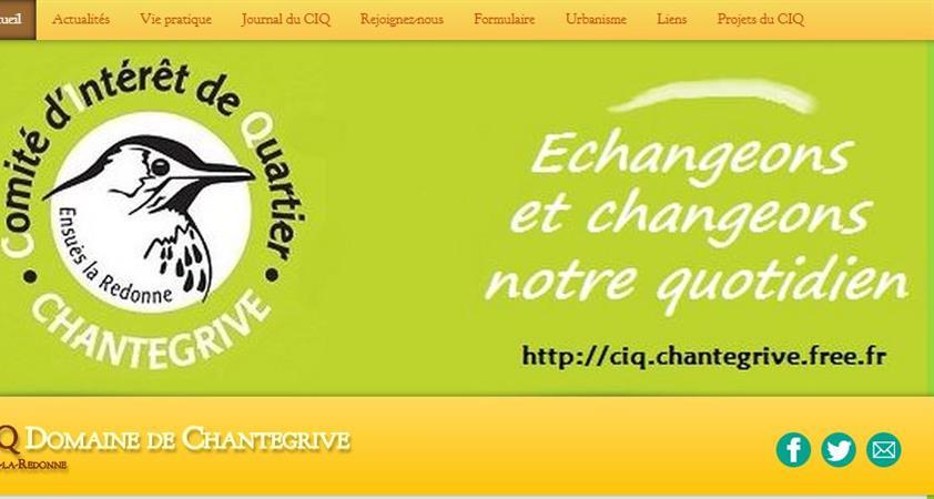 Adhésion au CIQ du Domaine de Chantegrive - CIQ du Domaine de Chantegrive
