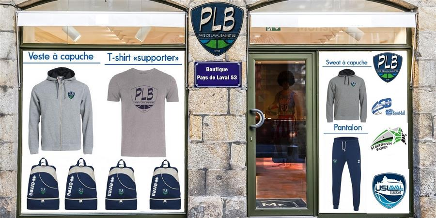 BOUTIQUE PLB 53 - ES BONCHAMP BASKET BALL