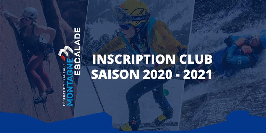 Inscription Club - 2020-2021 - Les Montes En l'Air
