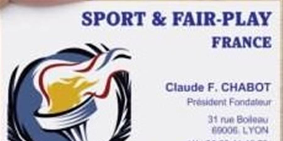 ADHÉSION 2017 - Sport & Fair-Play
