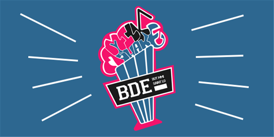 Adhésion BDE 2019/2020 - MMILKSHAKE BDE MMI