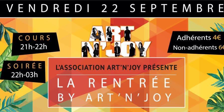 Cours de Kizomba  2017 - 2018 à Art'N'Joy - Art'N'Joy