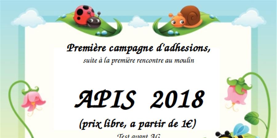Premières adhesion APIS, avant première AG - APIS