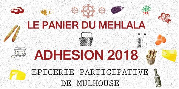 Panier du Mehlala - ADHESION 2018 - Sud Alsace Transition