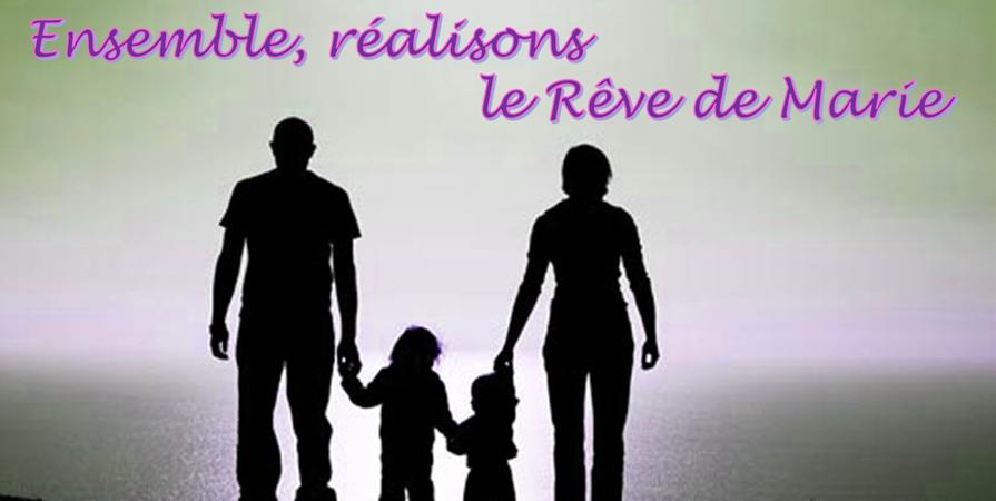 Adhérer à l'association - LE REVE DE MARIE DREAM