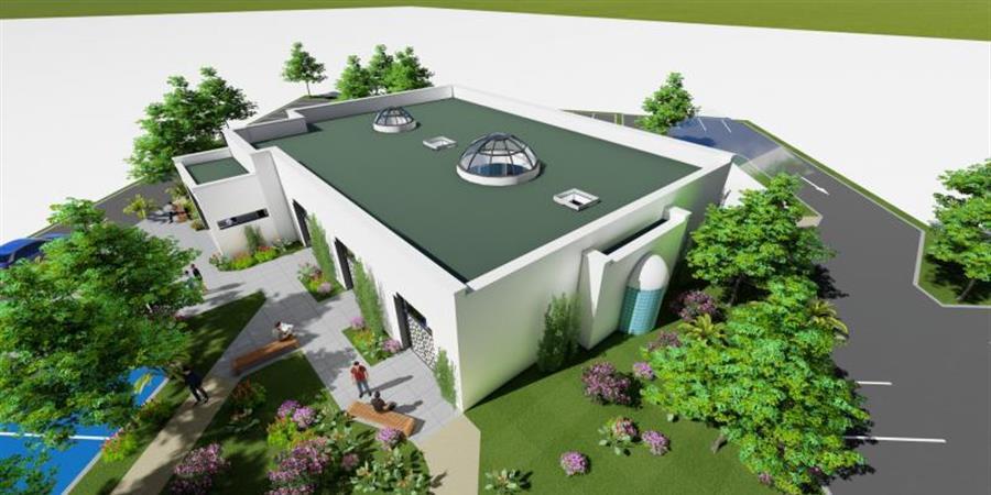 Construction de la Mosquée - Association des musulmans de Sully sur Loire
