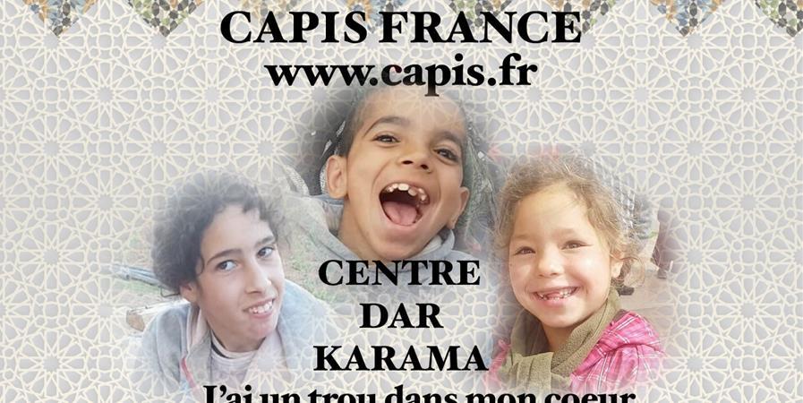 """Centre Médical Caritatif  """" DAR KARAMA """" - CAPIS : le cercle d""""amis des petits invalides à scolariser"""