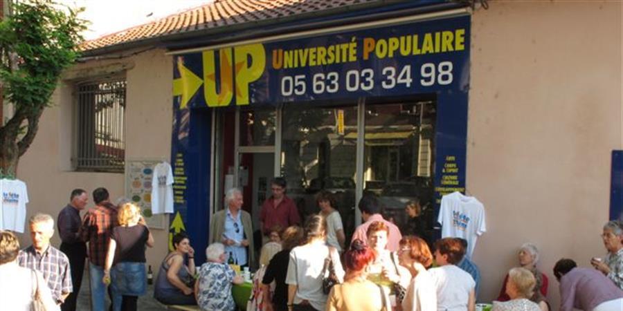 FICHE D'ADHESION - Université Populaire de Montauban