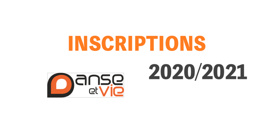 Inscription Danse et Vie 2020-2021 - Danse et Vie