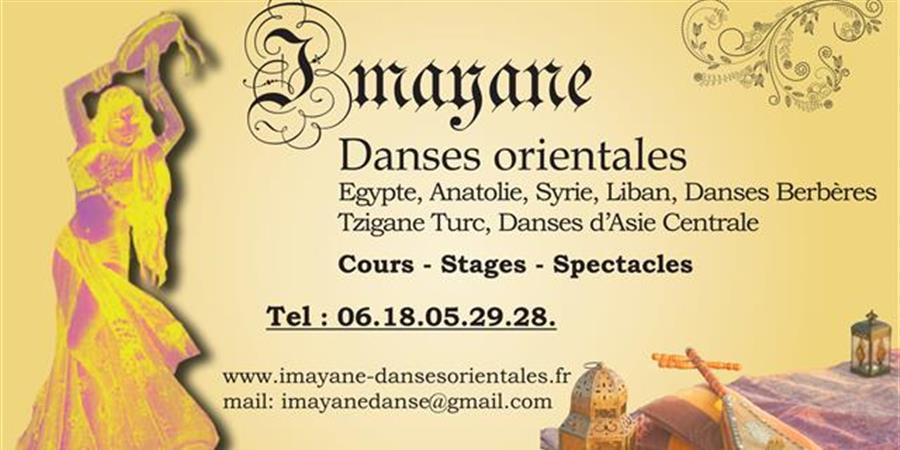 Cours de Danse orientale avec Imayane - Imayane