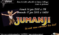 DVD Spectacle JUMANJI - Creation Danse Simiane