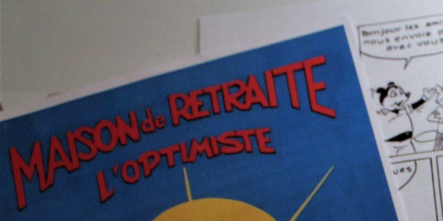 """Achat en ligne - Bande Dessinée Dédicacée :  """"Maison de Retraite  - L'Optimiste - AA CARREFOUR DES TALENTS 17"""