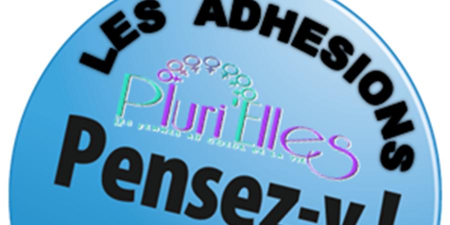 Adhésions Septembre 2018 à  Juin 2019  Association Pluri'Elles - Pluri'Elles