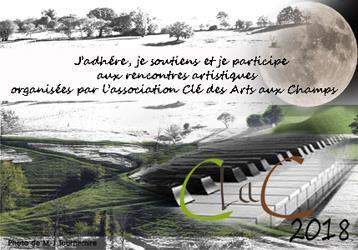 """Adhésion à l'association """"La clef des arts aux champs"""" - """"La clef des arts aux champs"""""""