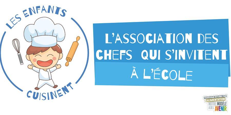 Adhésion Membre Actif - Les enfants cuisinent