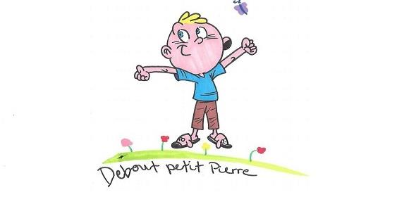 Debout Petit Pierre - Debout petit Pierre