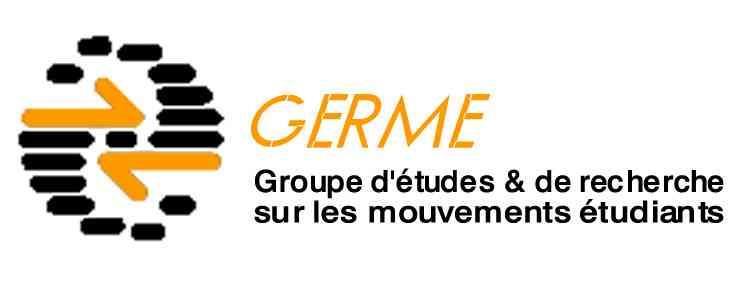Cotisation annuelle au GERME - GERME Groupe d'étude et de recherche sur les mouvements étudiants