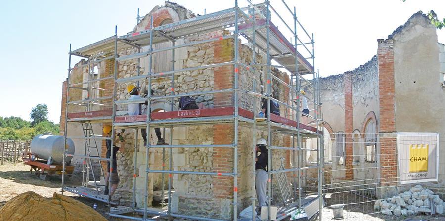 Inscription chantiers 2021 - Association CHAM