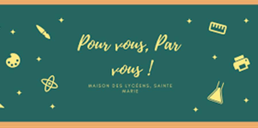 inscription MDL Sainte-Marie - Maison des Lycéens Sainte-Marie