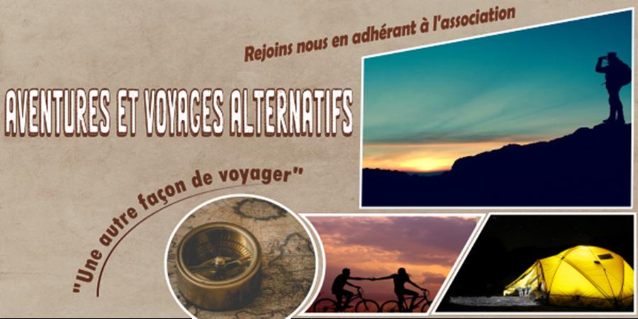 Devenez membre de l'association Aventures et Voyages Alternatifs - Aventures et Voyages Alternatifs