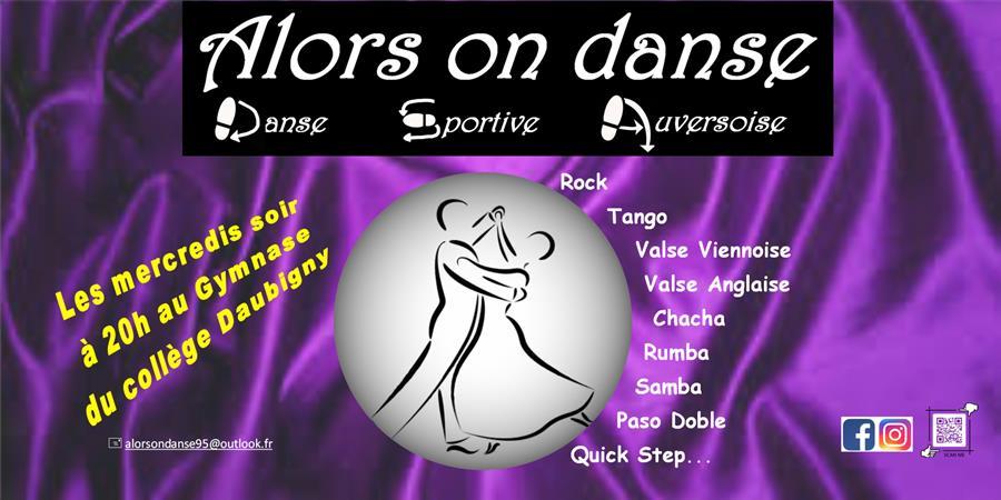 """ALORS ON DANSE 95"" - 2021/2022 - ALORS ON DANSE - Danse Sportive Auversoise"