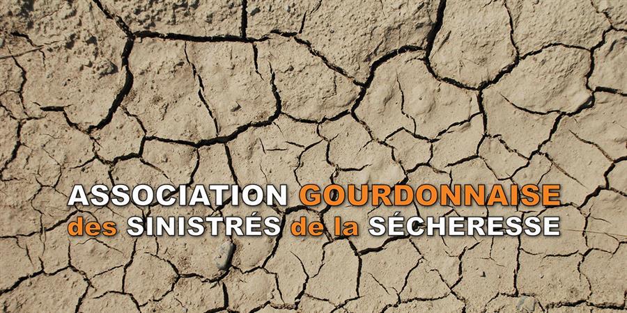 Adhésion AGSS - Association Gourdonnaise des Sinistrés de la Sécheresse
