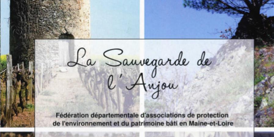 Mon association adhère à la Sauvegarde de l'Anjou - France Nature Environnement - Association Sauvegarde de l'Anjou