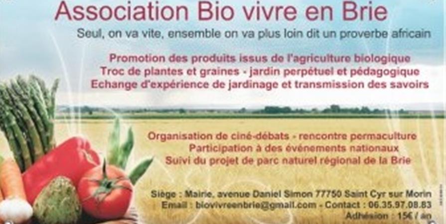 Adhésion 2020 - bio vivre en brie