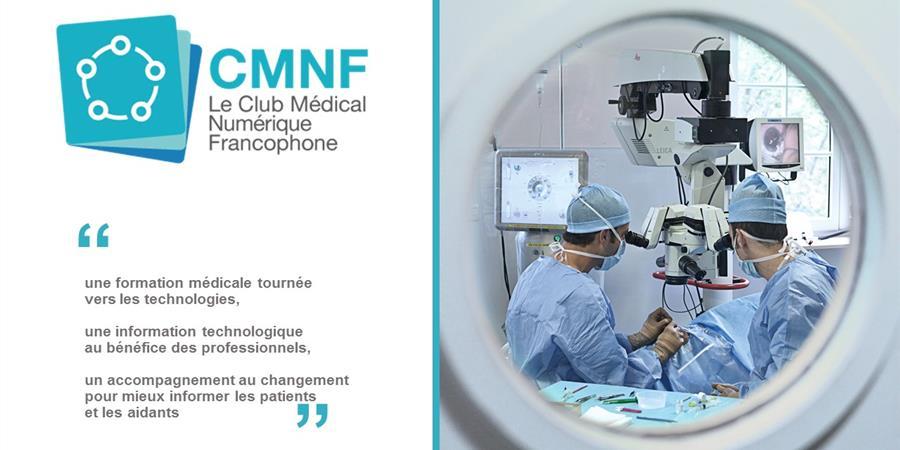 Adhésion au CLUB MEDICAL NUMERIQUE FRANCOPHONE - APPLICATIONS CITOYENNES