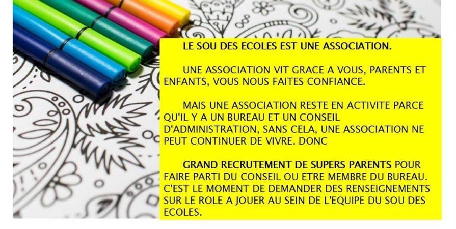 Cotisation annuelle 2019/2020 - Sou des Ecoles Montferrat