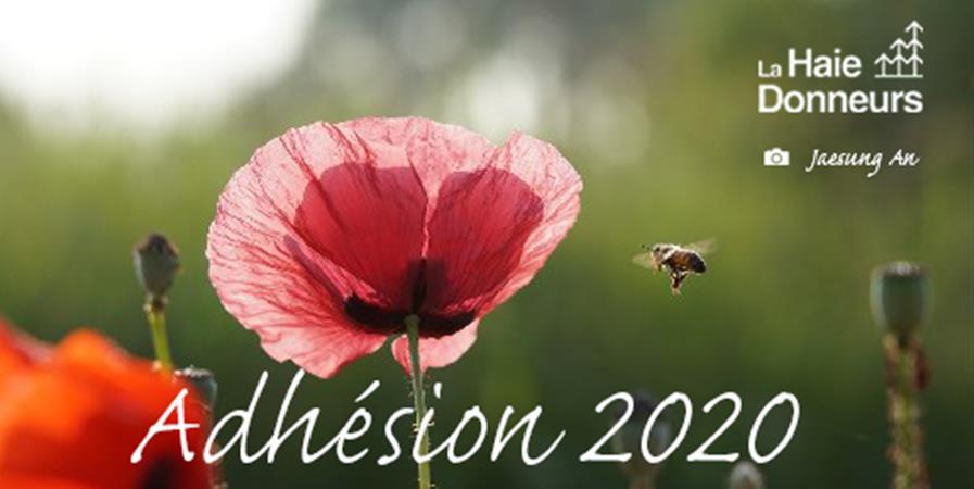Adhésion La haie donneurs - 2020 - La Haie Donneurs