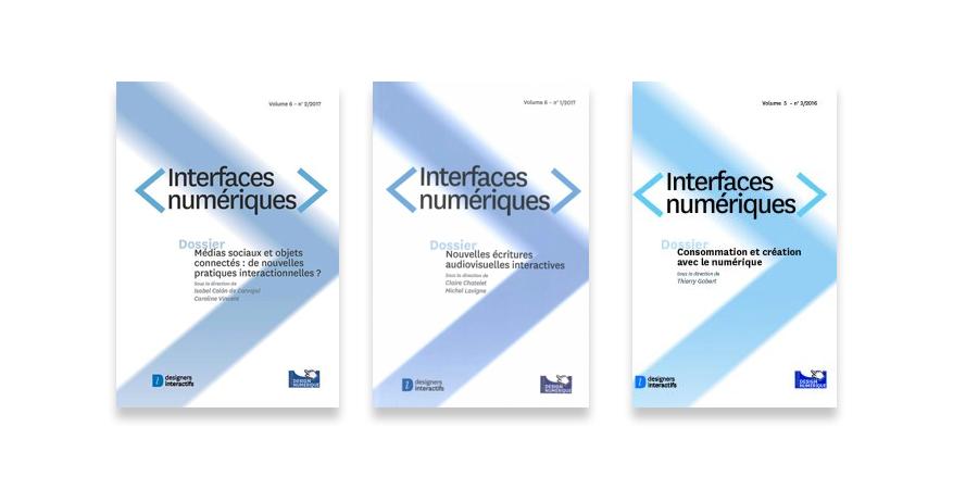 S'abonner à la revue Interfaces numériques - designers interactifs