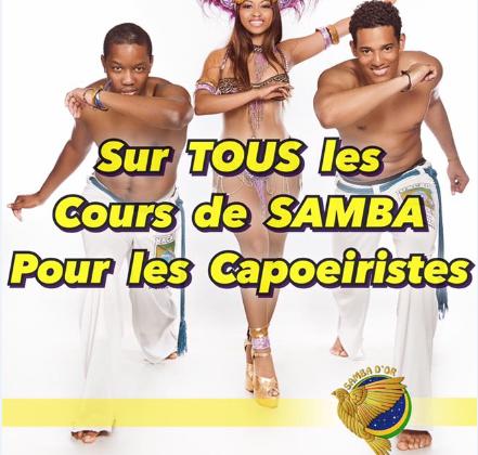 Inscription Samba - Capoeristes - B Com Bresil