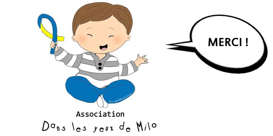 """Adhésion Association """"Dans les yeux de Milo"""" - Dans les yeux de Milo"""