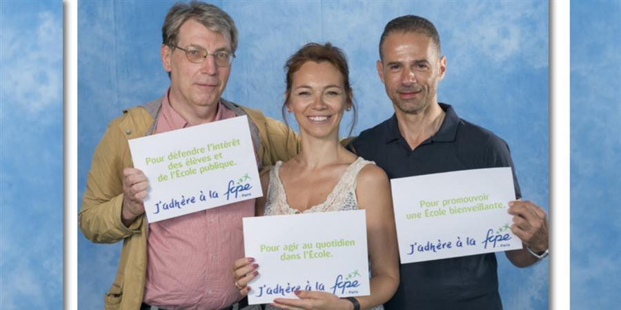 Adhésion FCPE J&S 2019-20 - Conseil de Parents d'Elèves de Janson et Delacroix