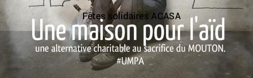 Association Fêtes solidaires pour une alternative charitable au sacrifice animal - Fêtes solidaires, pour une alternative charitable au sacrifice animal
