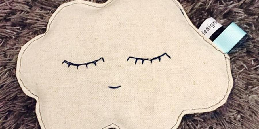 """Bouillotte sèche """" Pour que tes rêves soient doux """" - ASSOCIATION ENFANCE EPILEPSIE"""