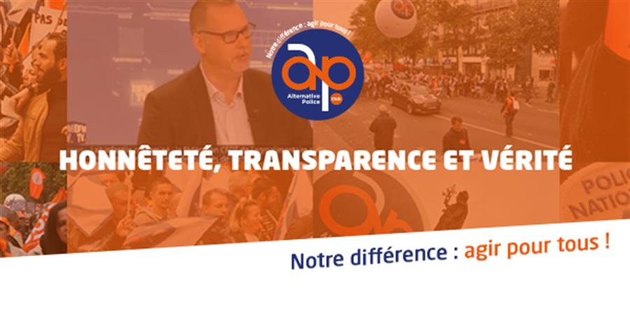 Adhésion 2021 - ALTERNATIVE Police CFDT