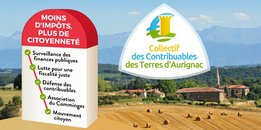 Adhésion en ligne 2018 - Collectif des Contribuables des Terres d'Aurignac