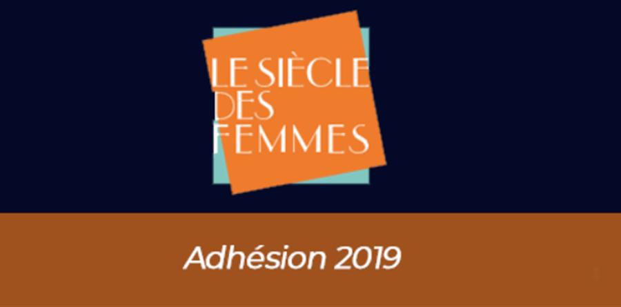 Adhésion 2020 - Le Siècle des femmes
