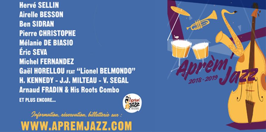 Adhésion saison 2018 2019 - Aprèm'Jazz