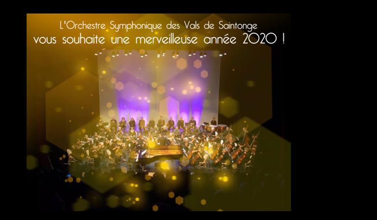 Adhésion 2020 - Orchestre Symphonique des Vals de Saintonge
