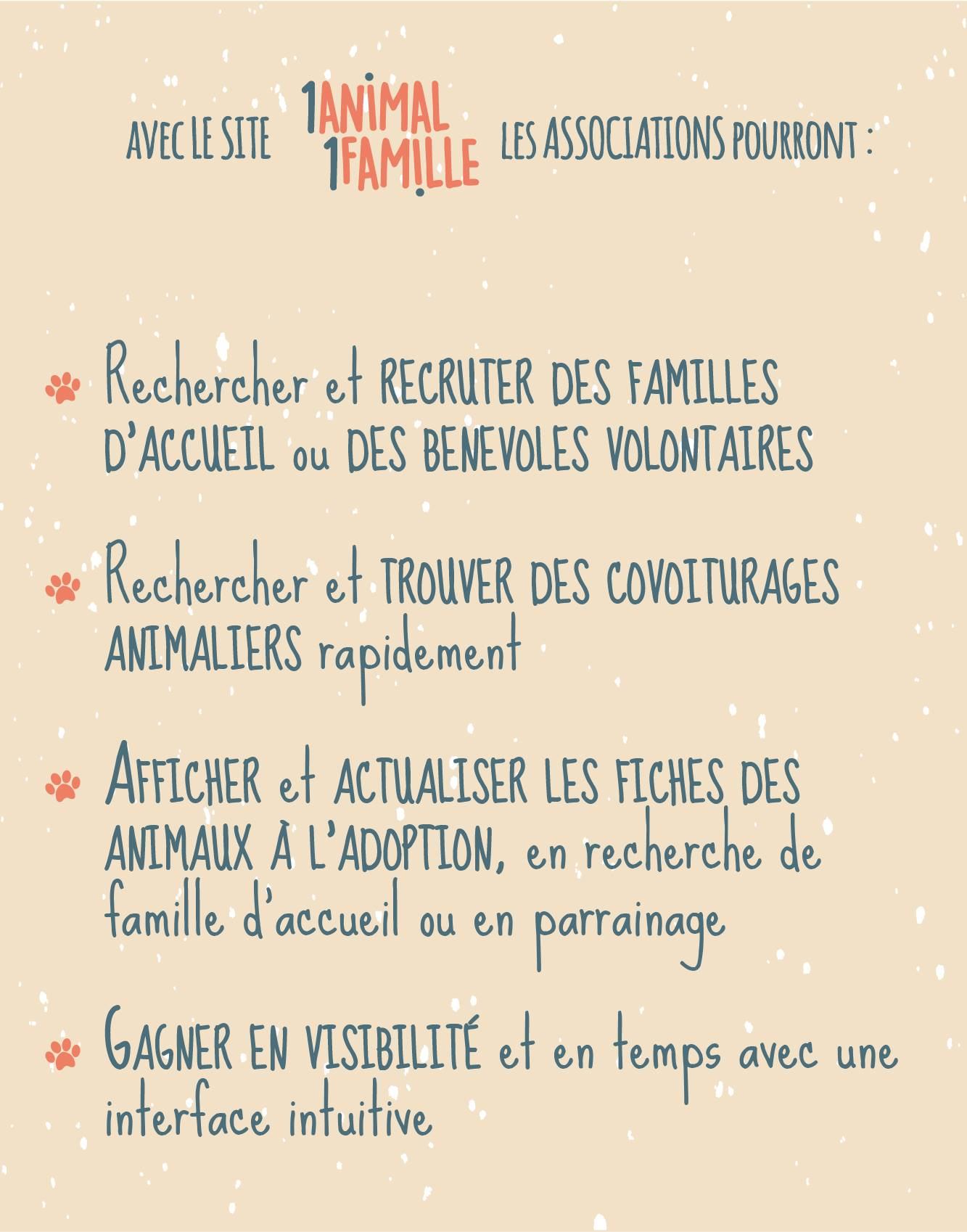 Que pourront-faire les associations ?