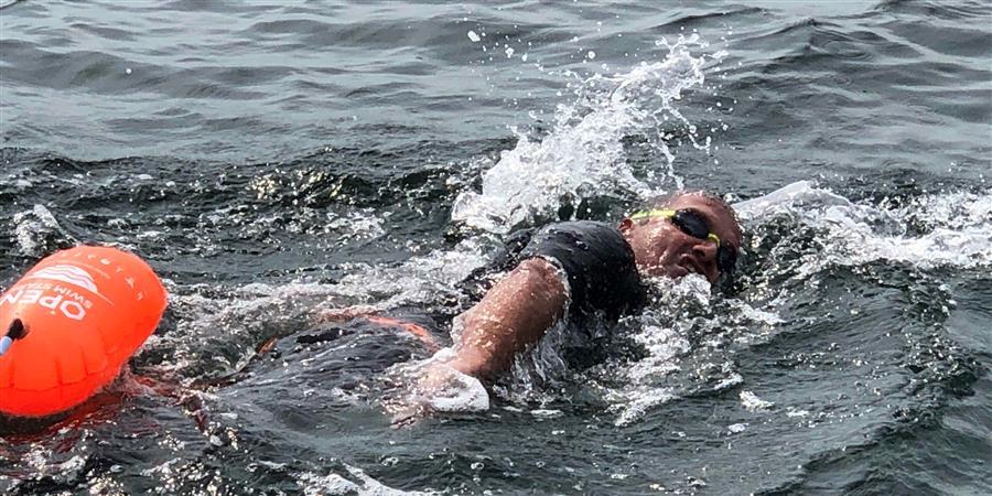 Défi YENO : nage libre en Vendée - Association SLA aide et soutien