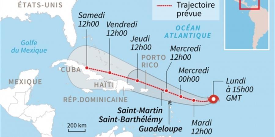 Ouragan Irma - Soutien des populations sinistrées - Protection Civile du Val d'OIse