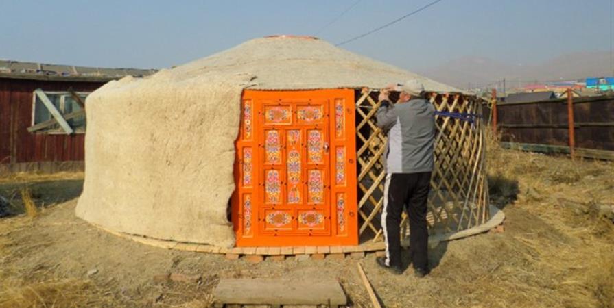 Financement d'une yourte pour une famille Mongole en situation d'urgence  - Un MO D'Où Mongolie